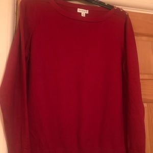 Woman's Red Sweater XL
